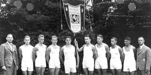 Die siegreiche Bannermannschaft