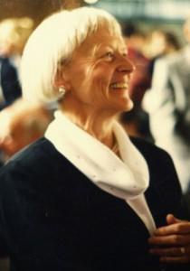 Annelise Sonneborn bei ihrer Verabschiedung