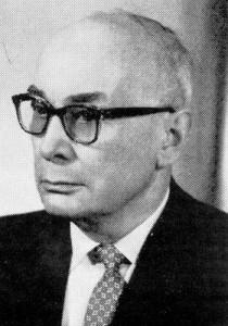 Dr. Kuno Behner, Schulleiter 1946 bis 1961