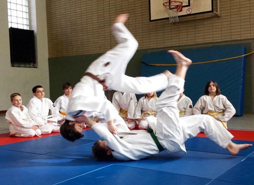 Judo AG am FJM 2