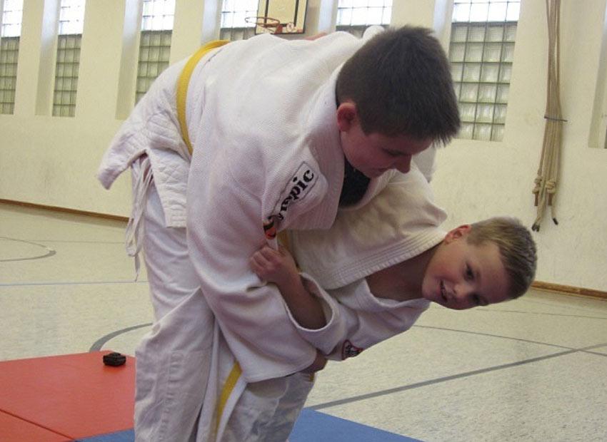 Judo AG am FJM 3