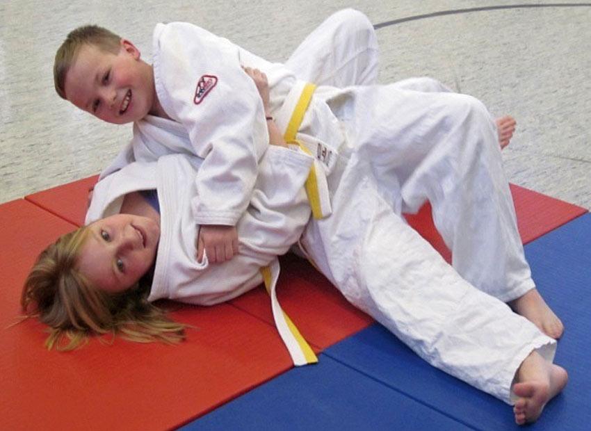 Judo AG am FJM 4