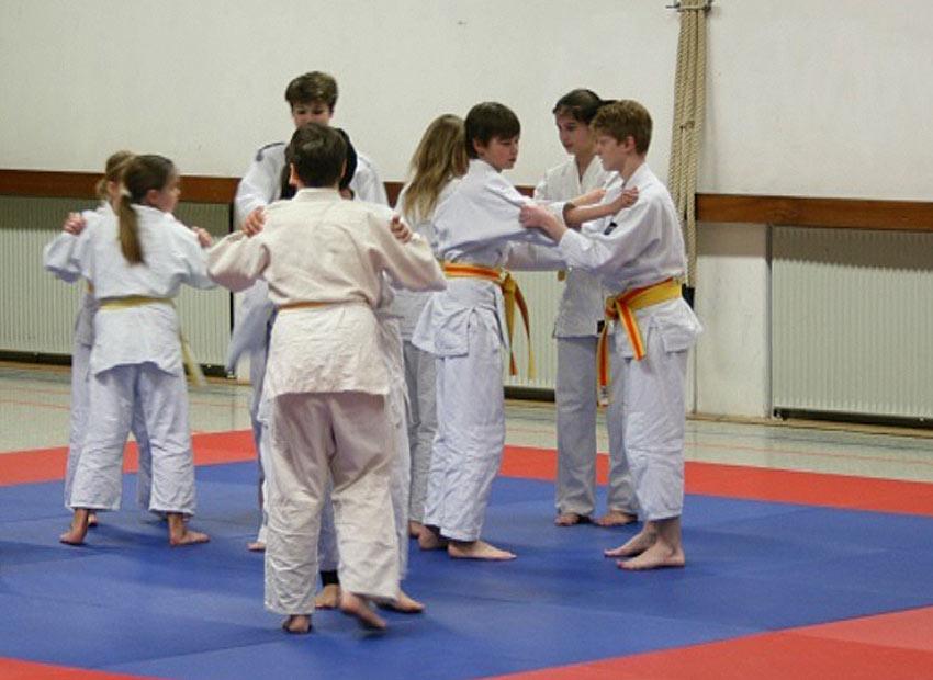 Judo AG am FJM 5