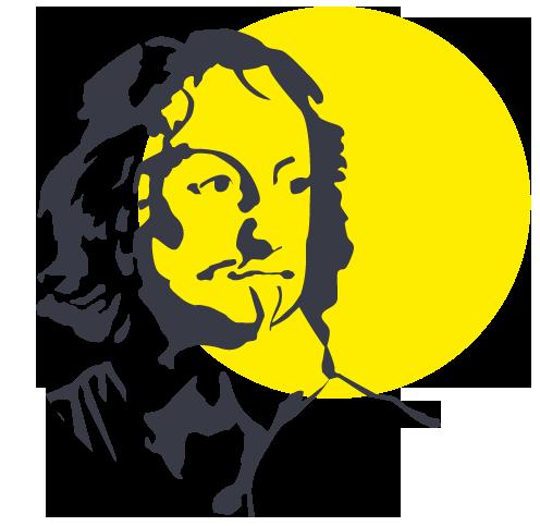 Fürst Kopf: gelber Kreis