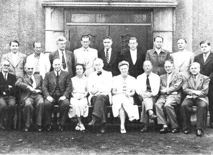 Das Lehrerkollegium im Jahr 1950